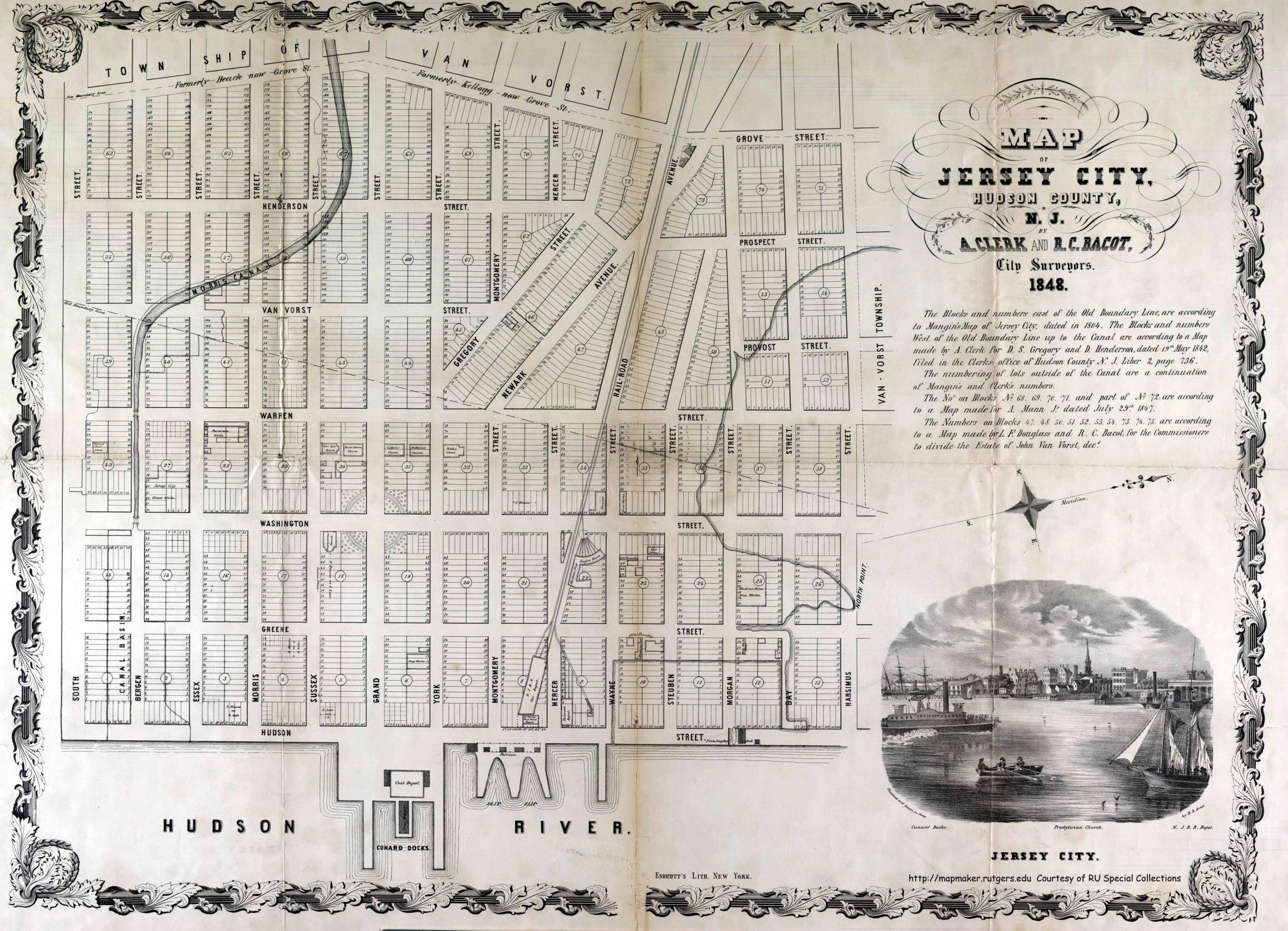 Map Critique: Jersey City