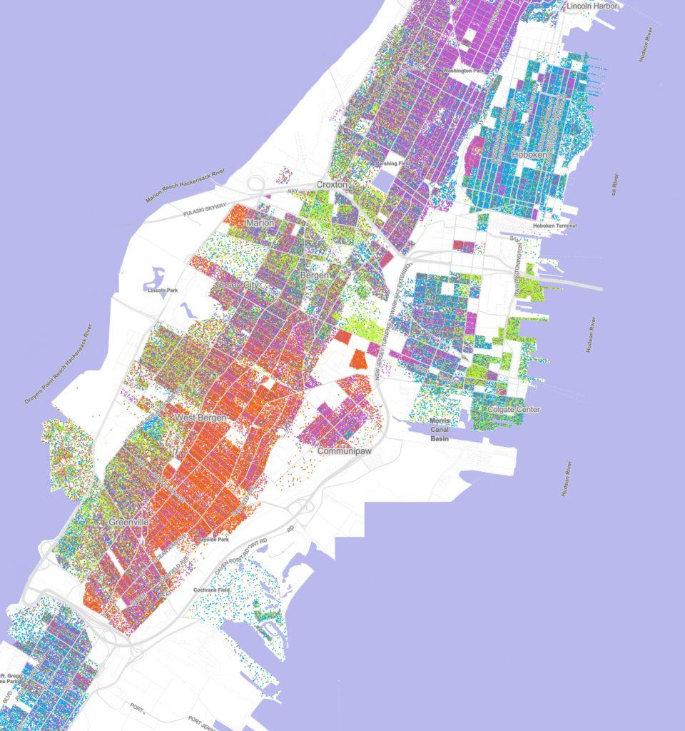 jersey city race map